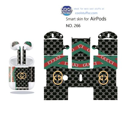 Gucci stickers for air pods