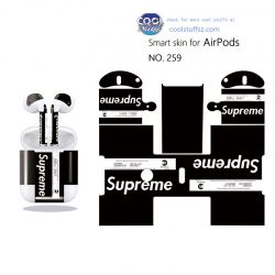 super me sticker for air pod